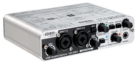 EDIROL UA-25EX USB AUDIO INTERFACE