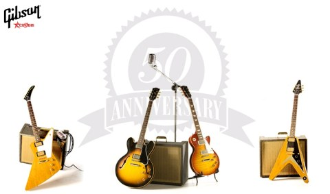 Gibson Custom 50th Anniversary Line Products