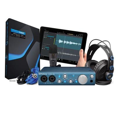 Presonus AudioBox iTwo USB 2.0 Recording Bundle with Interface