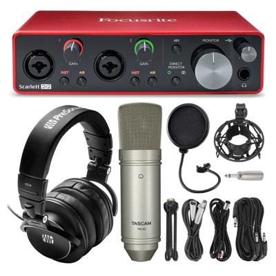 USB Recording Audio Interface