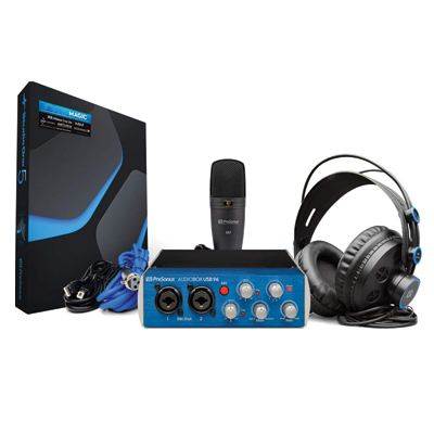 USB 2.0 Recording Bundle with Interface