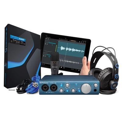 PresonusAudioBoxiTwo Recording Bundle with Interface