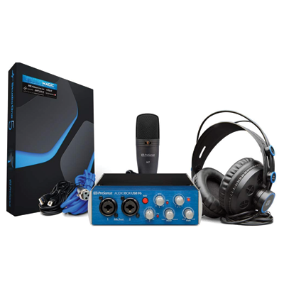 USB Recording Bundle with Interface