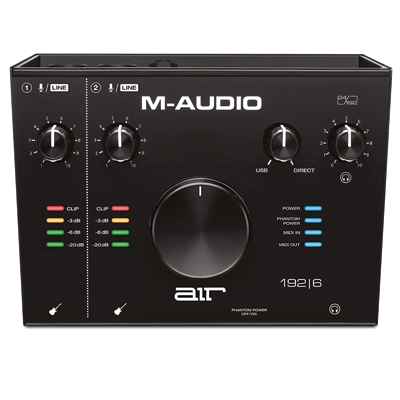 USB Audio / MIDI Interface with Recording Software