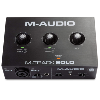 USB Audio Interface for Recording