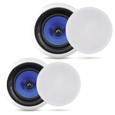 Pair of Ceiling Wall Flush Mount Speakers