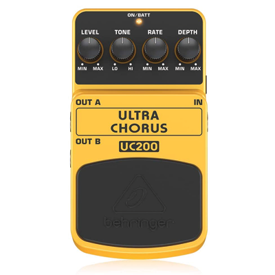 Behringer Ultimate Stereo Chorus Instrument Effects Pedal