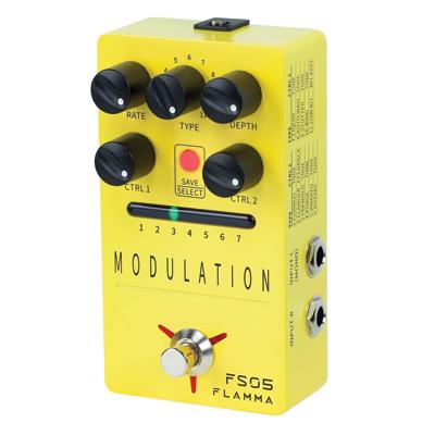 FLAMMA Multi Modulation Pedal Guitar Pedal