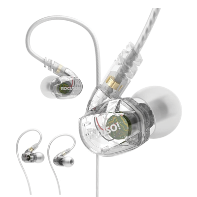 ROCUSO Noise-Isolating Musician's In Ear Monitor