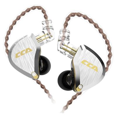 Hybrid HiFi Stereo Noise Isolating IEM Wired Earphones