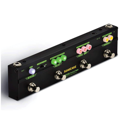 SONICAKE RockStage Multi Effects Classic Rock Tone Distortion