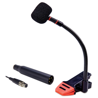 Knox Clip-On Gooseneck Instrument Microphone