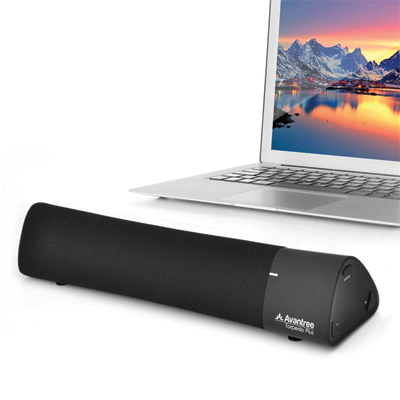 ow Latency Bluetooth External Speaker for Laptop, MacBook